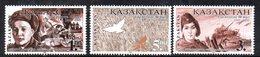 805 490 - KAZAKISTAN 1995 ,  Unificato N. 90/92  ***  IIWW - Kazakistan