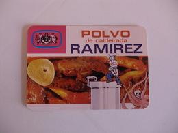Polvo De Caldeirada Ramirez Leça Da Palmeira Portugal Portuguese Pocket Calendar 1986 - Calendars