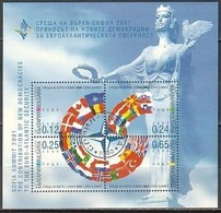 NATO Meeting In Sofia - Bulgaria / Bulgarie 2001 -  Block MNH** - NATO