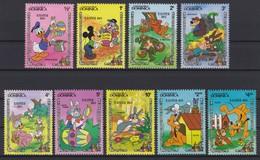 2144  WALT DISNEY - Commonwealth Of DOMINICA  ( EASTER 1984 ) - Disney