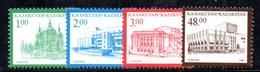 810 490 - KAZAKISTAN 1995 ,  Unificato N. 106/109  *** - Kazakhstan