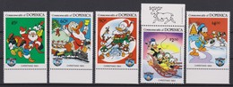 2145  WALT DISNEY - Commonwealth Of DOMINICA  ( CHRISTMAS 1984 )  HAPPY BIRTHDAY 1934 / 1984 . - Disney
