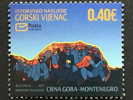 Montenegro 2017 Michel Nr. 411 Tag Der Marke Moderne Kunst - Montenegro