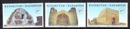 815 490 - KAZAKISTAN 1996 ,  Unificato N. 132/134  *** - Kazakistan