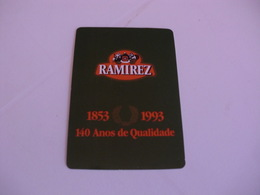 Conservas Ramirez Leça Da Palmeira Portugal Portuguese Pocket Calendar 1993 - Calendars