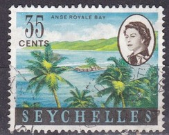 Seychelles, 1962/69 - 35c Anse Royale Bay - Nr.203 Usato° - Seychelles (1976-...)