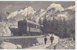 Bernina-Bahn - Bei Morteratsch - Animiert - 1910        (P-145-60618) - Trains