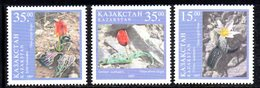 821 490 - KAZAKISTAN 1997 ,  Unificato N. 184/186  *** Tulipani - Kazakhstan