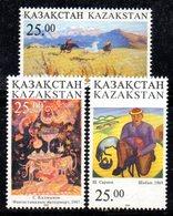 824 490 - KAZAKISTAN 1997 ,  Unificato N. 187/189  *** - Kazakistan