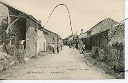CPA. D74. MESSERY. La Grande Rue. PITTIER Phot édit ANNECY - Messery