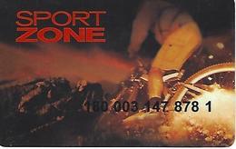 Sport Zone - Customer Loyalty Card - Portugal - Unclassified