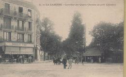 La Garenne Colombes : Carrefour Des Quatres Chemins Au Petit Colombes - La Garenne Colombes