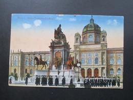 Österreich 1920 AK Wien Mit Frankatur Wappenzeichnung. Stempel: Kinderhilfsaktion - 1918-1945 1. Republik