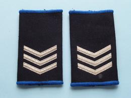 3 STREPEN / LATTEN ( Paar / Couple ) ( Details, Zie Foto's ) ! - Uniforms