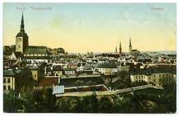 ESTONIA : REVAL - TOTALANSICHT - Estonia
