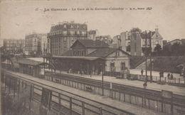 La Garenne Colombes : La Gare De La Garenne Colombes - La Garenne Colombes