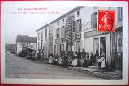 88 - GIRANCOURT - Cafe Du Centre - Grande Rue - Devanture - France