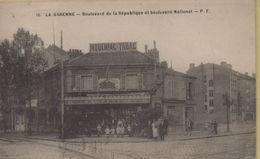 La Garenne Colombes : Boulevard De La République Et Boulevard National - La Garenne Colombes