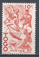 Togo 1947. Scott #309 (M) Extracting Palm Oil * - Togo (1914-1960)