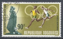 Togo 1968. Scott #C96 (U) Runners, Summer Olympics Mexico City * - Togo (1960-...)