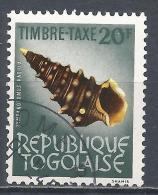 Togo 1964. Scott #J63 (U) Shell, Tympanotomus Radula * - Togo (1960-...)