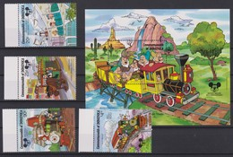 2150  WALT DISNEY - Commonwealh Of DOMINICA  ( 60 Th Annivesary Of Mikey Mouse ) - Disney