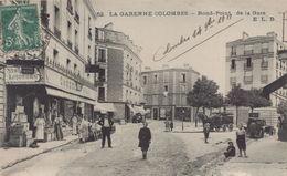 La Garenne Colombes : Rond Point De La Gare - La Garenne Colombes