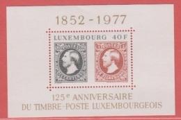 1977 ** (sans Charn., MNH, Postfrisch)  Yv  BF 10Mi  Block 10 - Luxembourg