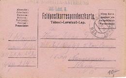 Feldpostkorrespondenzkarte Ldstm. Arbeiter-Abteilung 203/Ldst. 8 - Feldpost 814 - 1915 (35299) - 1850-1918 Imperium