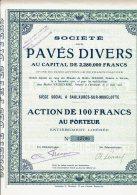 88-PAVES DIVERS. STE DES ... SAULXURES Sur MOSELOTTE. - Shareholdings