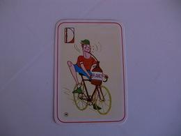 Sports Cartoon Comic Portugal Portuguese Pocket Calendar 1984/1985 - Calendars