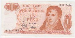 Argentina P 287 - 1 Peso 1970 1973 - AUNC - Argentina