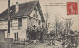 Le Plessis Robinson : Le Restaurant Des Roches - Le Plessis Robinson
