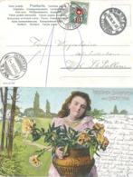 """Taxierte AK  """"Herzlichen Glückwunsch Zum Geburtstag""""  (Schnapsdatum 11.XI.11)       1911 - Switzerland"""