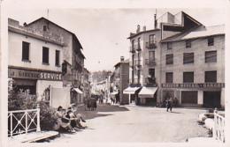 "Bourg Madame - Entrée De La Ville (animation, Magasins ""J.Gineste, Service, Parsiana, Buscial, Garage, Puigeerda"" - France"
