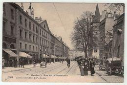 Suisse // Schweiz // Switzerland // Genève  //  Genève, Rue De La Corraterie - GE Geneva