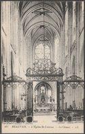 Le Chœur, L'Église St-Etienne, Beauvais, Oise, C.1920s - Lévy Et Neurdein CPA LL103 - Beauvais