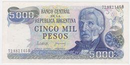Argentina P 305 - 5000 5.000 Pesos 1977 1983 - AUNC - Argentina