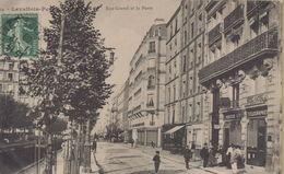 Le Plessis Robinson : Rue Gravel Et La Poste - Le Plessis Robinson