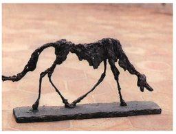 (ORL 450) France - Art - Dog  / Chien De Giacometti - Sculture