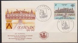 Belgien FDC 1967 Nr. 1475 700. Jahrestag Verleihung Der Stadtrechte An Ostende  ( D 6078 ) Günstige Versandkosten - FDC