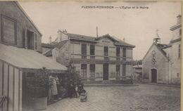 Le Plessis Robinson : L'Eglise Et La Mairie - Le Plessis Robinson