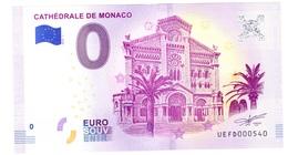 Billet à 0€ Cathédrale De Monaco Année 2018 NOUVEAUTE - Monnaie De Paris