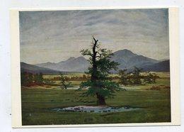 PAINTING - AK 326063 Caspar David Friedrich - Einsamer Baum - Peintures & Tableaux