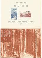 JAPON 1955 - Blocks & Sheetlets