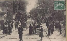 Le Plessis Robinson : Rue De Malabrie - Le Plessis Robinson
