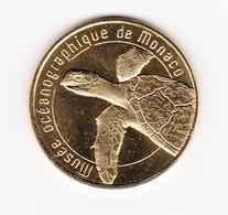 Jeton Musée Océanographique De Monaco TORTUE Année 2018 NOUVEAUTE - Monnaie De Paris