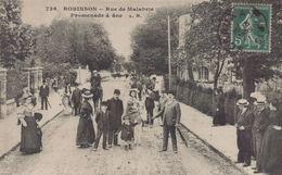 Le Plessis Robinson : Rue De Malabrie - Promenade à Ane - Le Plessis Robinson