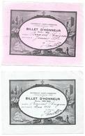 Billet D'honneur De 1932 - Diplômes & Bulletins Scolaires