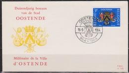 Belgien FDC 1964 Nr. 1345 1000. Jahre Ostende  ( D 6077 ) Günstige Versandkosten - FDC